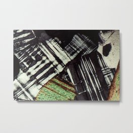 Feldspar and Biotite Metal Print