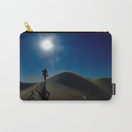 Walking on sand dunes Carry-All Pouch