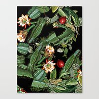 botanical Canvas Prints featuring BOTANICAL  by sametsevincer