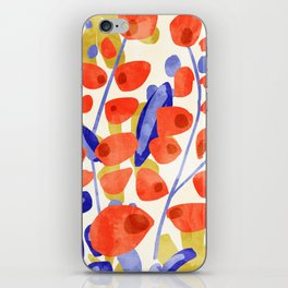 All Good Things Are Wild & Free #painting iPhone Skin