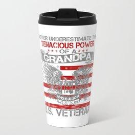 Never underestimate Grandma Travel Mug