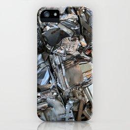 Mangled Metal iPhone Case