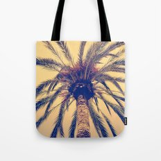 Tenerife Palm Tree Tote Bag
