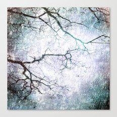 Listen To The Winter Trees Canvas Print