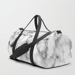 Gray Marble Duffle Bag