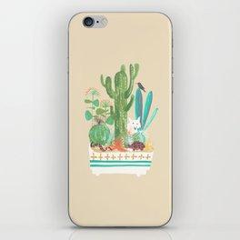 Desert planter iPhone Skin