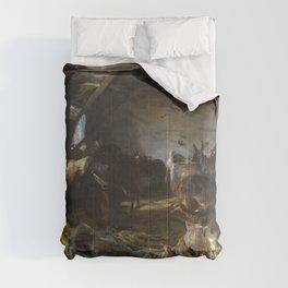 John Singer Sargent - Stable at Cuenca Comforters