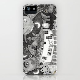 Cats at Night iPhone Case