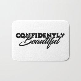 Confidently Beautiful Bath Mat