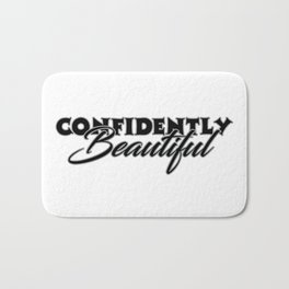 Confidently Beautiful Bath Mat
