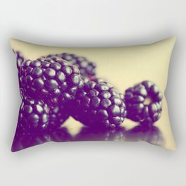 Blackberries Rectangular Pillow