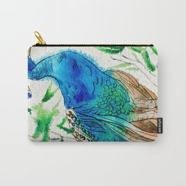 Perched Peacock I Carry-All Pouch