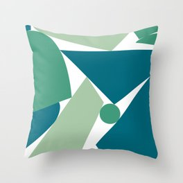 Stack (D) Throw Pillow