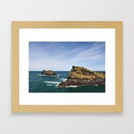 English Coast - Boscastle Framed Art Print