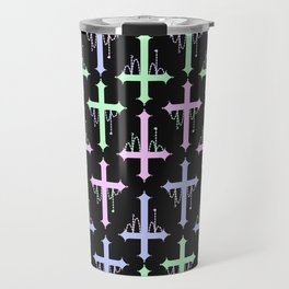 Crosses with Beads Travel Mug