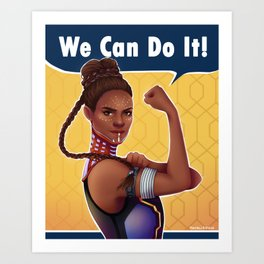 We can do it Art Print