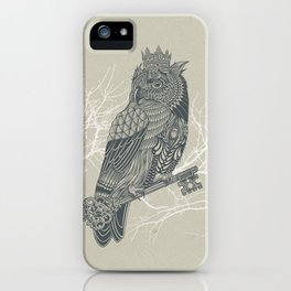 Owl King iPhone Case
