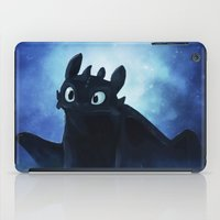toothless iPad Cases featuring Toothless by Liancary
