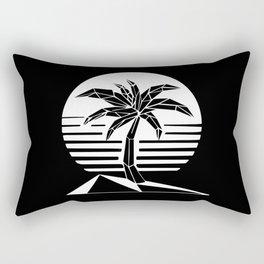New Retro Palm Rectangular Pillow