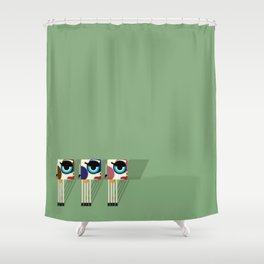 Cowstack Shower Curtain
