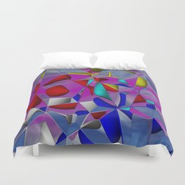 crackled -3- Duvet Cover