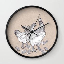 Scrambled croak Wall Clock