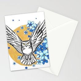 Oracle Owl Stationery Cards