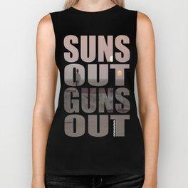 Suns Out Guns Out Biker Tank