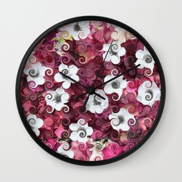 The Flower Dance Wall Clock