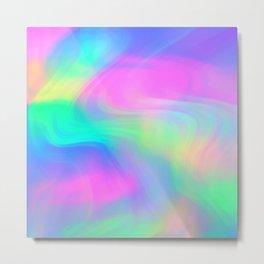 Psychedelic in pastel Metal Print