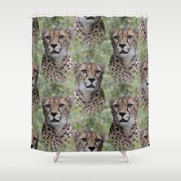 Allover Cheetah Shower Curtain