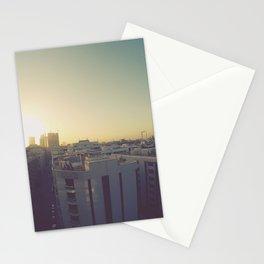 Sunrise on Dubai Skyline Stationery Cards
