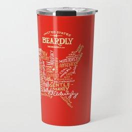 UNITED STATES OF BEARDLY Travel Mug