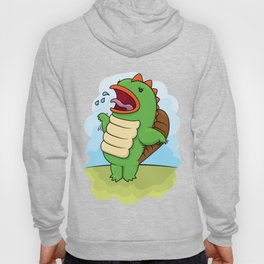 Humphrey the Deranged Platypus Monster Hoody