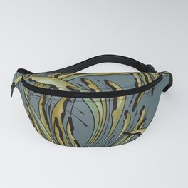 Modern Tropical Plant Design for Nature Lovers Fanny Pack