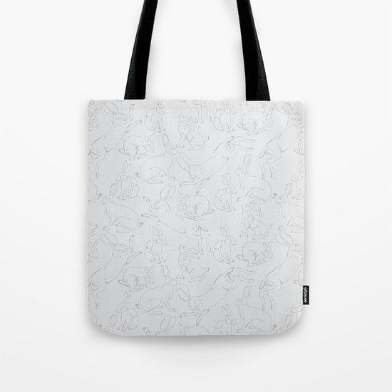 Hares Tote Bag