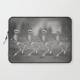 Dancing skeletons II Laptop Sleeve