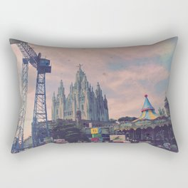 Carnivals and Colors and Castles and Churches Rectangular Pillow