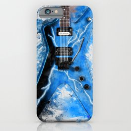 Dimebag Darrell's Guitar iPhone Case