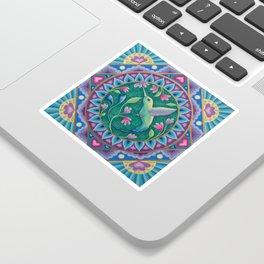 Hummingbird Mandala Sticker