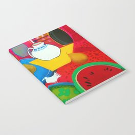 Blue Plate  Notebook