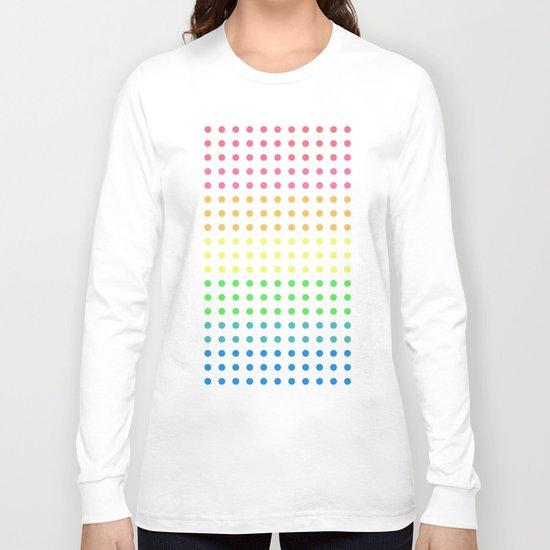 Sugar Dots (black) Long Sleeve T-shirt