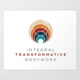 ITB stacked logo Art Print