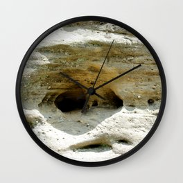 Rock Formation in Kentucky #2 Wall Clock