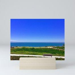 Park by the Ocean Mini Art Print