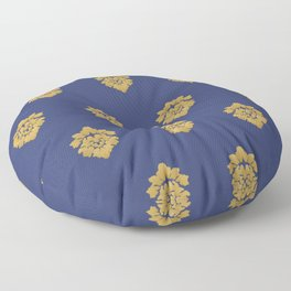 Free Marches (Blue) Floor Pillow