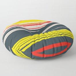 Linear Colors Floor Pillow