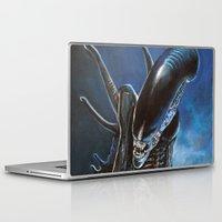 alien Laptop & iPad Skins featuring Alien by Tom C Carlton