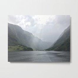 Norway Fjord 1 Metal Print