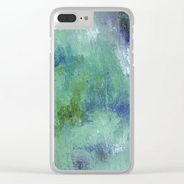 Hidden Depths Clear iPhone Case